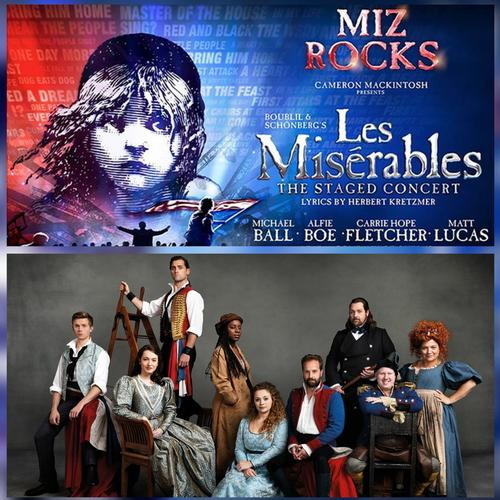 Les Miserables The Staged Concert opens in London - News The announcement at Britain's Got Talent