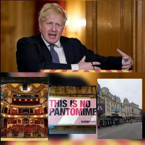 Boris announces new lockdown - News Theatres will be closed