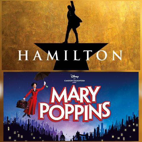 Mary Poppins and Hamilton are back - News The shows will be back this summer