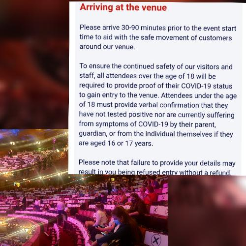 At the theatre with Covid passport and mask - News What are the rules?