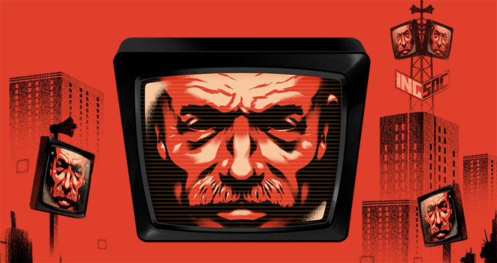 George Orwell's 1984 - Review - The Playhouse Big Brother is Watching You