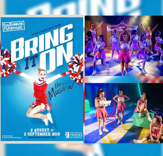 Bring it on: The Musical! - Review - Southwark Playhouse Cheerleaders' fans? Don't miss this one