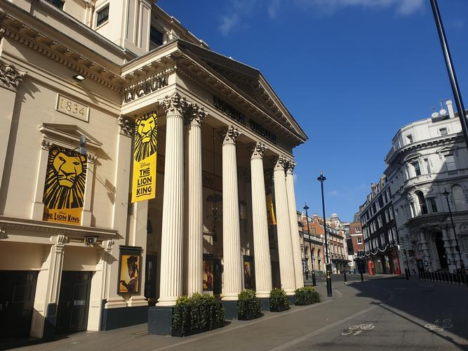 Lyceum Theatre has been flooded - News The orchestra pit was 12ft under water