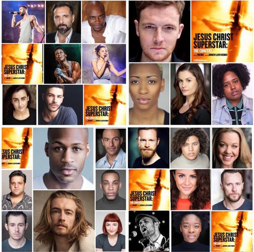 Jesus Christ Superstar : the cast - News The full cast for the concert at the Open Air Theatre has been announced