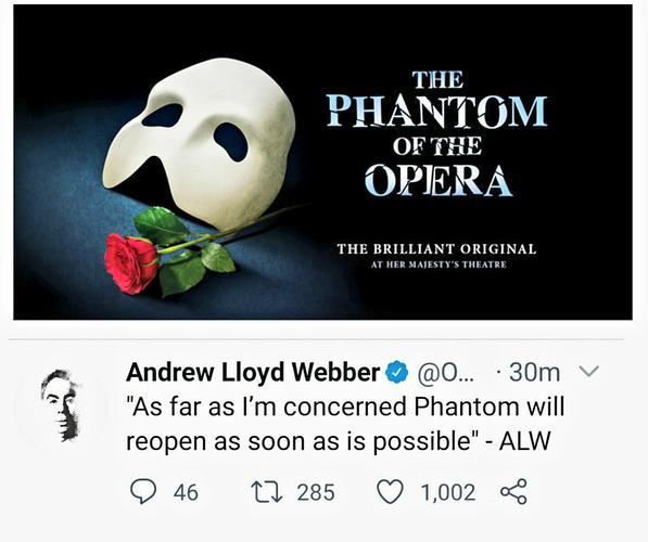 Andrew Lloyd Webber about the Phantom - News