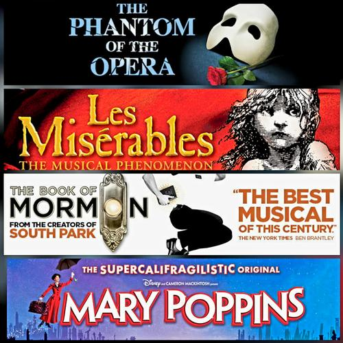 West End returns for Les Mis, The Book of Mormon, Phantom and Mary Poppins - News The West End is coming back!