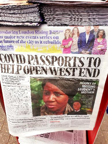Covid Passports to open the West End - News A
