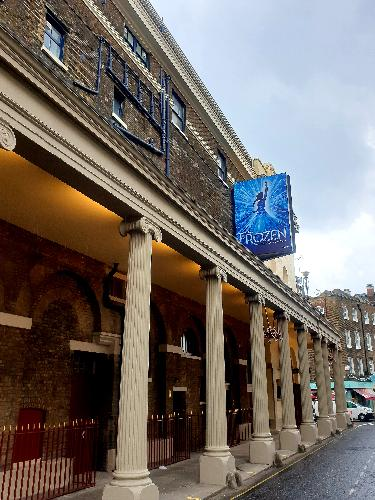 The Royal Drury Lane is ready for Frozen - News The musical will open in August