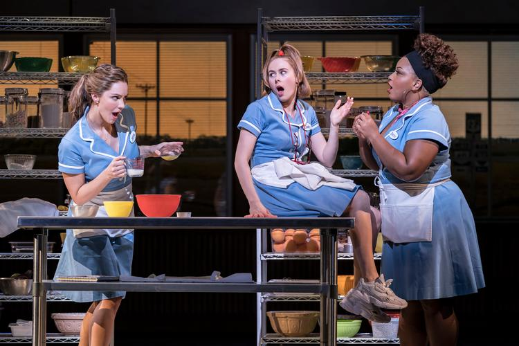 Waitress - Review - Adelphi Theatre What baking can do
