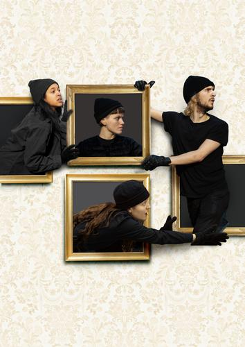 Art Heist - Review - New Diorama Theatre An experimental comedy about the danger of labels