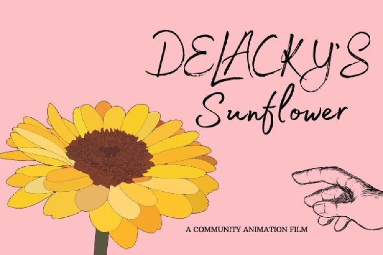Delacky's Sunflower - News A peom. A story. A fundraiser.