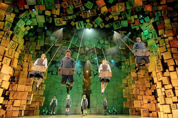 Matilda (2019) - Review - Cambridge Theatre The hit West End show with a bizarre and cheesy plot