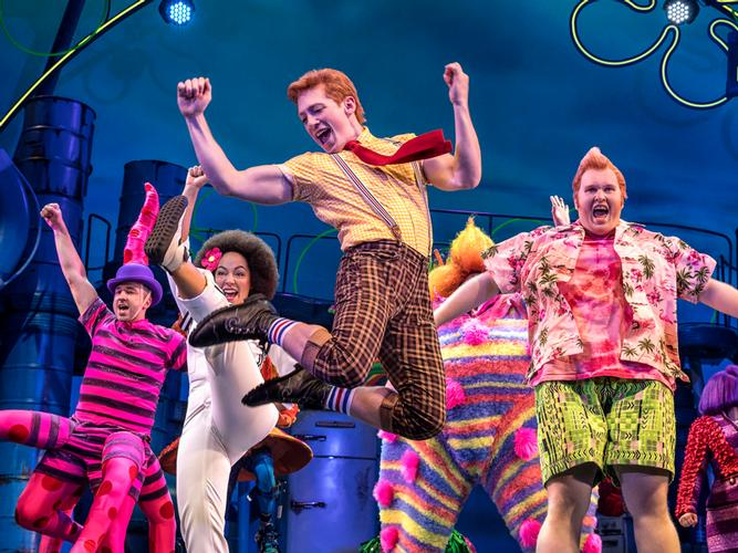 SpongeBob the Musical DVD - News The DVD will be released in November