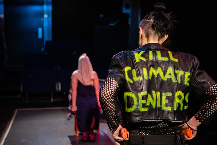 Kill Climate Deniers - Review - The Pleasance Theatre A provocative and incendiary play at the Pleasance