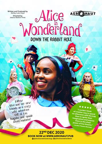 Alice in Wonderland LIVE! - News The show returns to West London