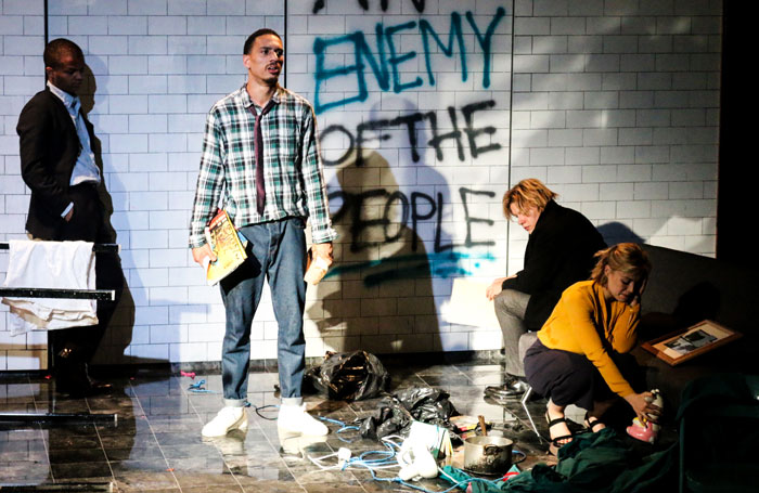 An enemy of the people - Review - Playground Theatre A new diverse modern adaptation of Ibsen's work