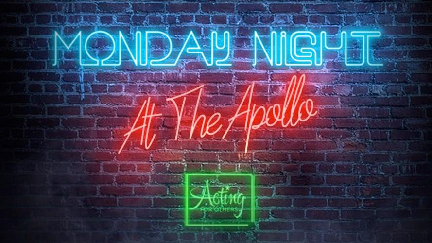 Monday Night at the Apollo - News A new series of chats and performances