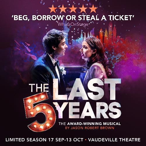 The Last Five Years revival to transfer to the West End - News The show will run at the Vaudeville Theatre