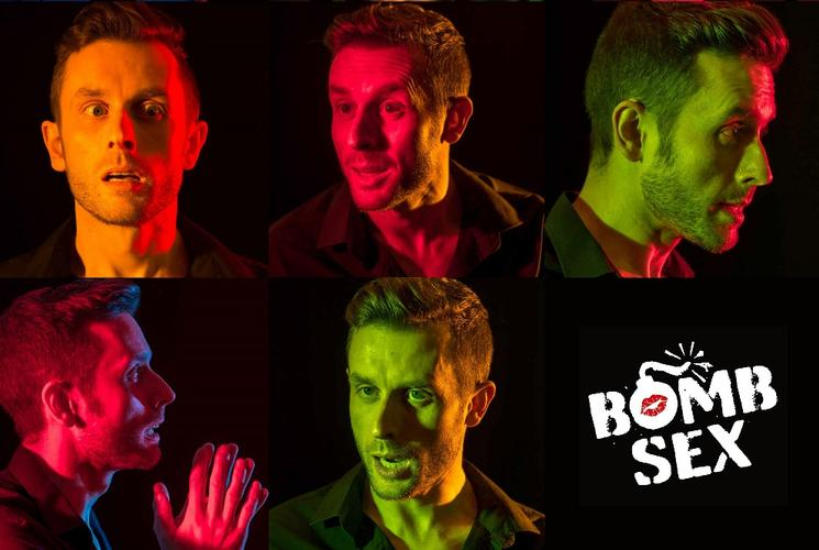 Bomb Sex - Review - the Hope Theatre One man. Eight voices.
