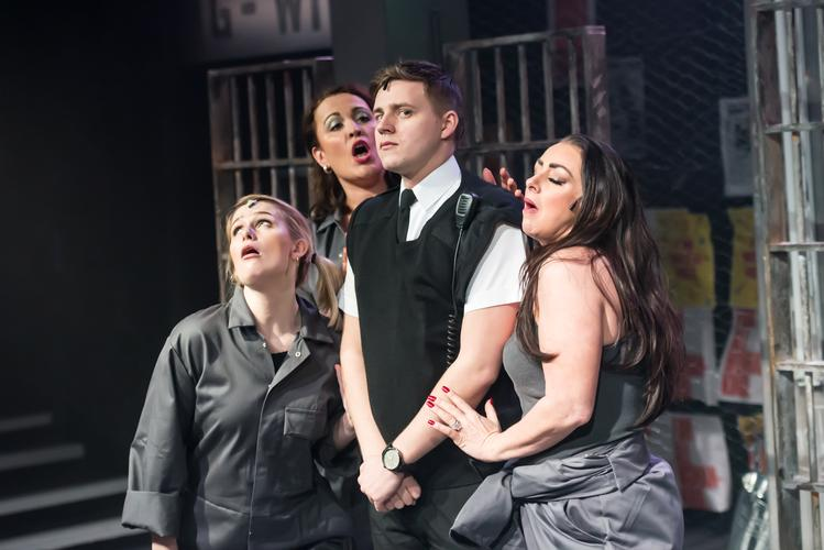 Bad Girls - Review - Upstairs at the Gatehouse Our review of the Musical based on the popular ITV1 prison drama series