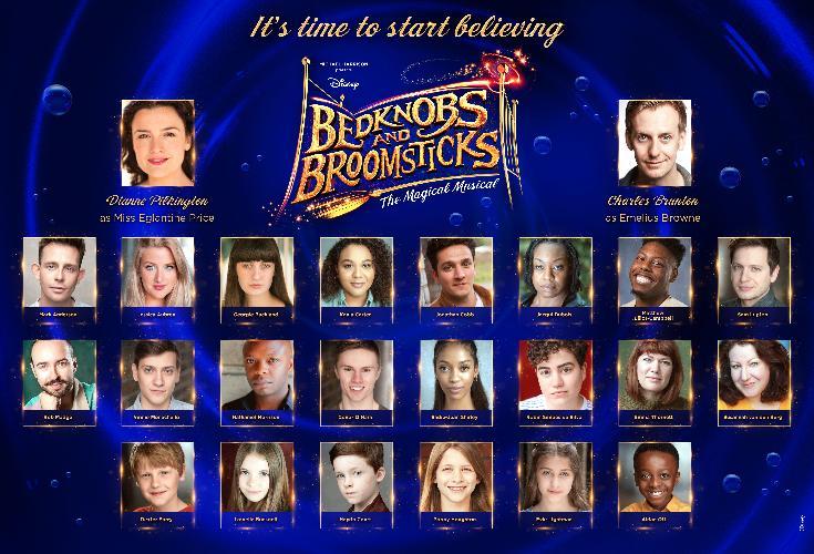 Full Cast Announced for Disney's Bedknobs and Broomsticks - News Diane Pilkington will star as Eglantine Price