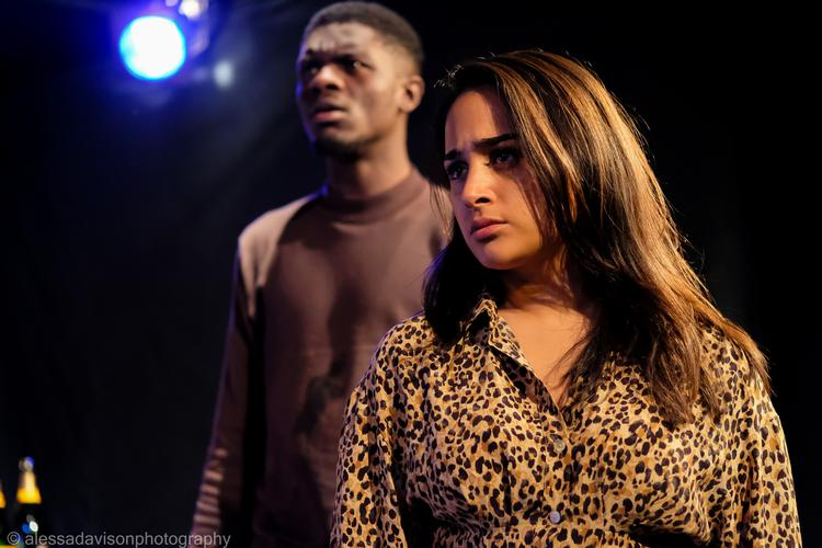 Boujie - Review -Drayton Arms Theatre Friends or money?