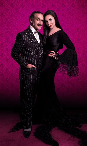 The Addams Family Tour - News Samantha Womack and Cameron Blakely will be Morticia and Gomez