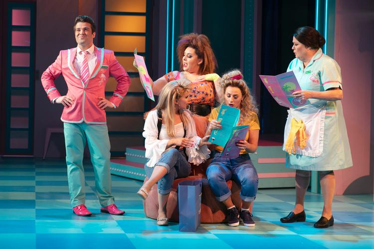 Club Tropicana - Review - New Wimbledon Theatre A musical that takes us back to the '80s