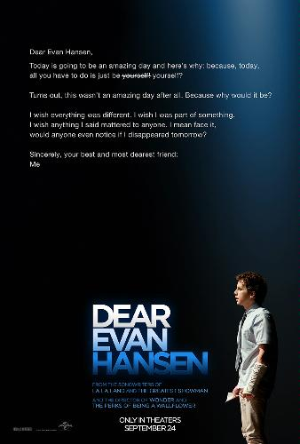 Dear Evan Hansen The Movie - News The trailer is here!