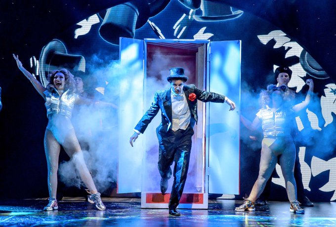 Magic Goes Wrong to reopen in the West End in December - News ..socially distanced, of course