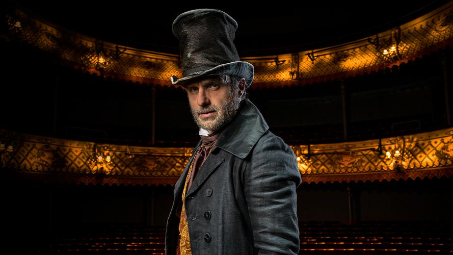 Andrew Lincoln in A Christmas Carol - News Old Vic's live-stream initial casting has been announced