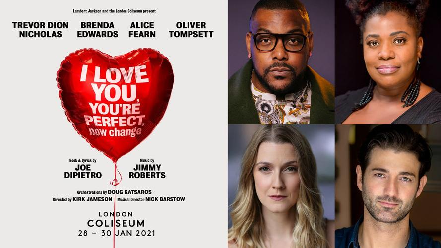 I Love You, You're Perfect, Now Change - News A new virtual production announced