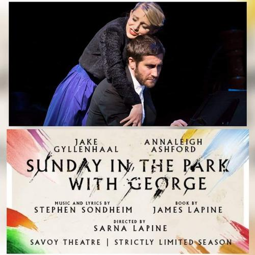 Sunday in the Park with George at the Savoy - News Jake Gyllenhaal and Annaleigh Ashford in Sondheim's musical