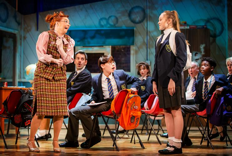 The Secret Diary of Adrian Mole aged 13 3/4 - Review - Ambassadors Theatre The musical adaptation of Sue Townsend's best-selling book