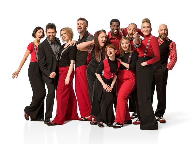 Showstopper! The Improvised Musical! - Review The show takes up a (socially distanced) four-month residence at the Garrick Theatre