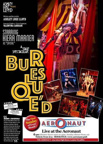 Burlesque'D - Review - The Aeronaut Burlesque'D is back!