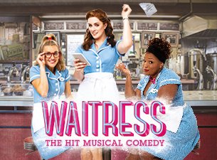 Waitress  extends booking period - News More pies, please