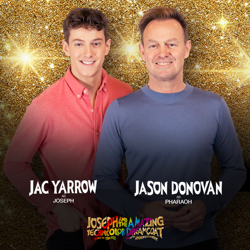 Jac Yarrow and Jason Donovan in Joseph - News Another round for them!