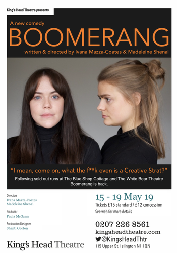 Boomerang - Review - King's Head Theatre A compelling human drama