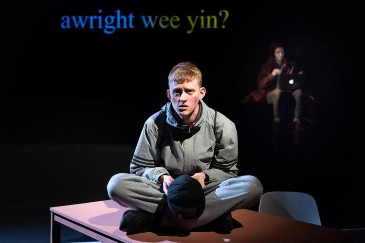 Mouthpiece - Review - Soho Theatre She wants his story. She gets his story.