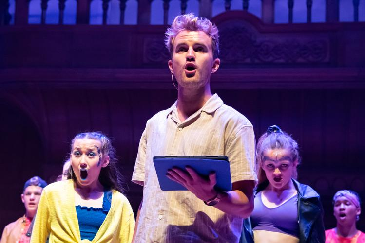 Godspell - Review - Cadogan Hall A semi-staged version of the Broadway musical from Stephen Schwartz