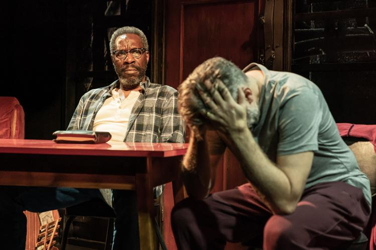 The Sunset Limited - Review - Boulevard Theatre A play about redemption, faith and freewill