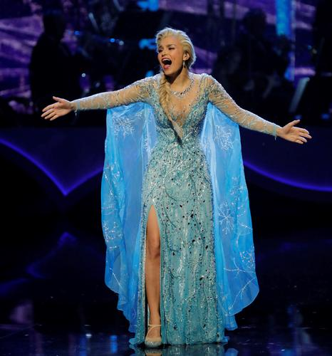 Let it go from Frozen - News Samantha Barks performed at the Royal Variety Performance
