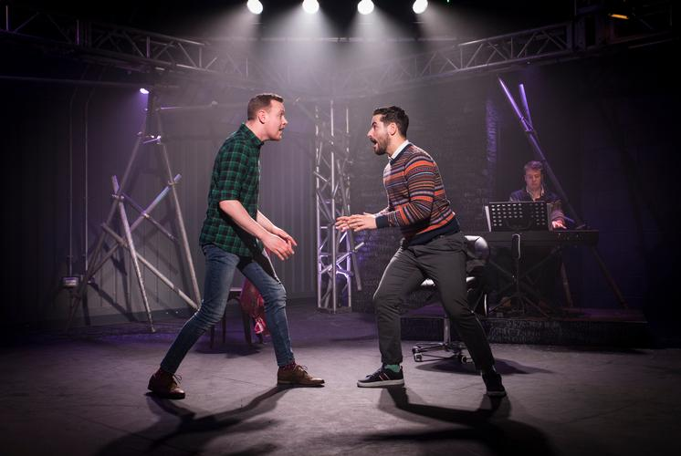 [Title of Show] – Review – Above the stag Theatre A musical about...writing a musical
