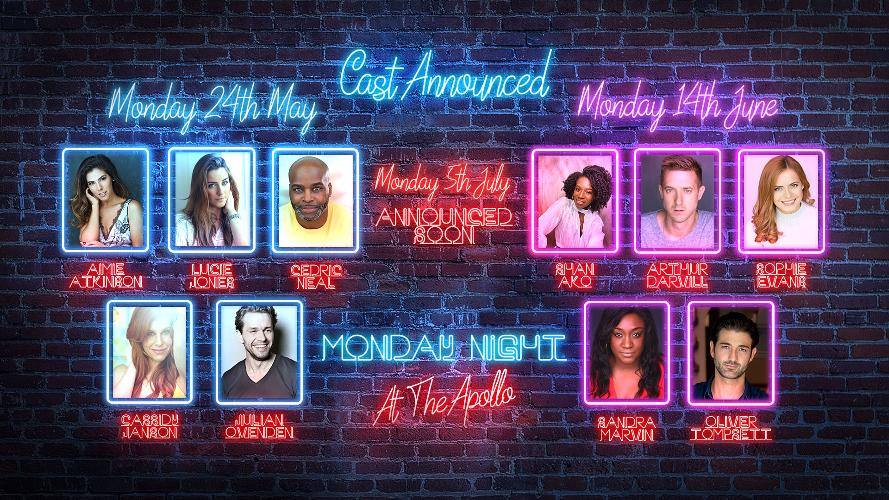 Monday Night at the Apollo Concert - News Line Up Announced for Second Monday Night at the Apollo Concert