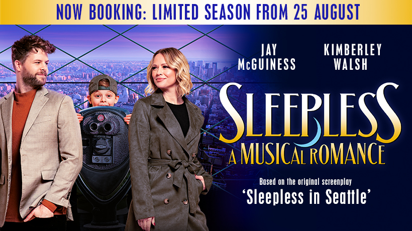 Sleepless opens in August - News Performances will begin pending Government guidance