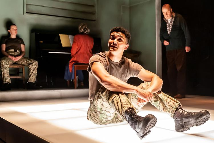 "Not Talking - Review - Arcola Theatre ""Not talking you lose someone. You drift"""