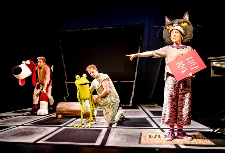 Oi Frog & Friends!  - Review - Lyric Theatre A new family show