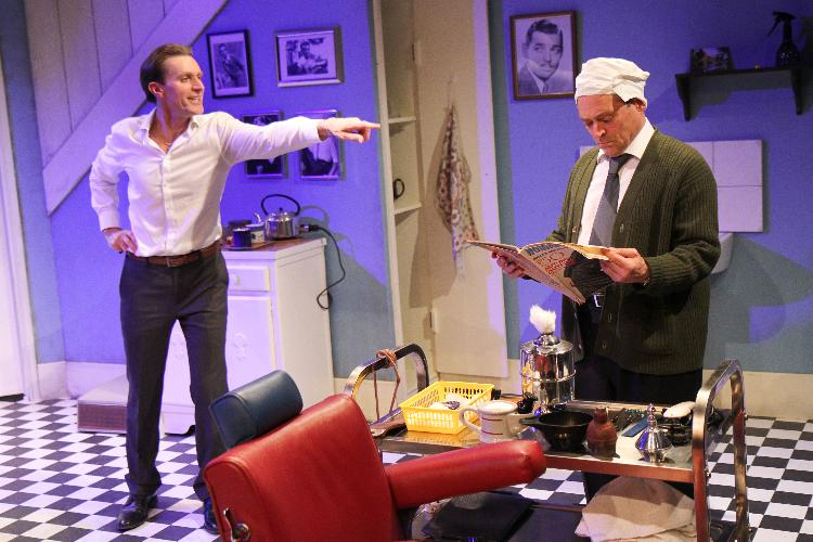 Staircase - Review - Southwark Playhouse The opportunity to experience the suffering of a gay couple in the height of 1960s oppression