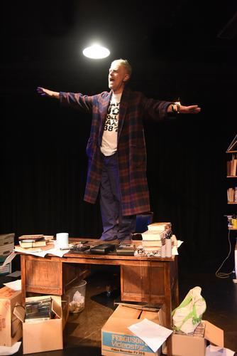 Tony's Last Tape - Review - Omnibus Theatre Based on the diaries of Tony Benn
